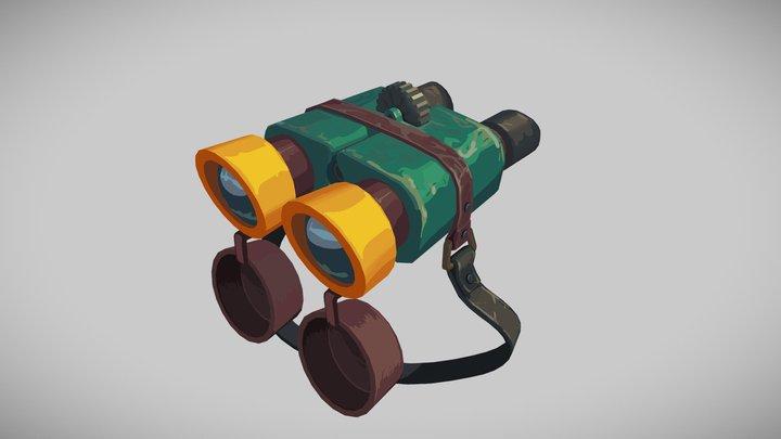 Traveller's Binoculars #TravelChallenge 3D Model