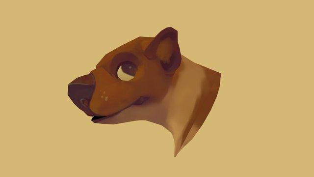 pup 3D Model
