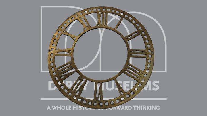 Clock Face 3D Model