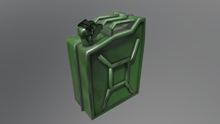 Commercial - Jerrycan 3D Model