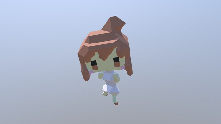ささらフック 3D Model