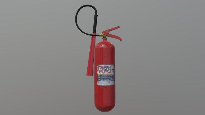 3D Asset - Fire Extinguisher 3D Model