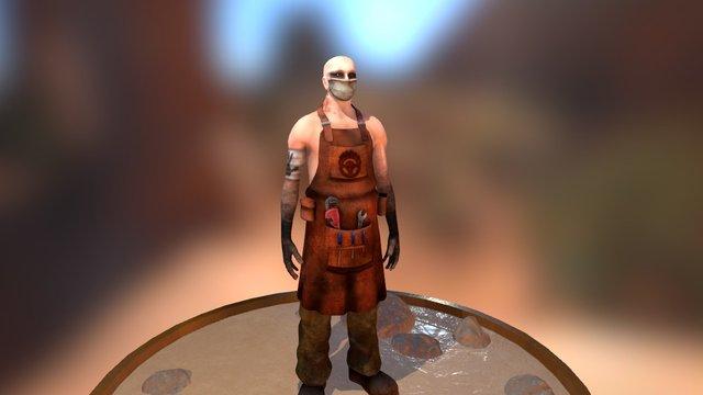 Mad Max Original Character 3D Model