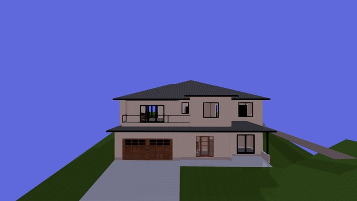 Osoyoos Basement Entry 3D Model