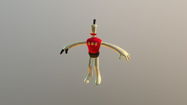 01 Klayman ANIMATE 3D Model