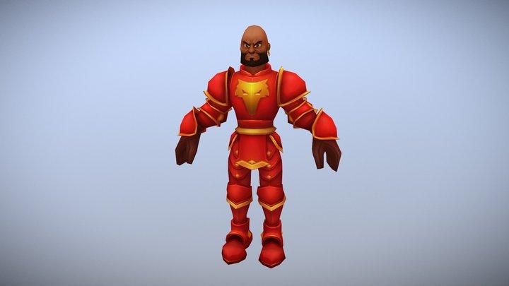 Red knight 3D Model