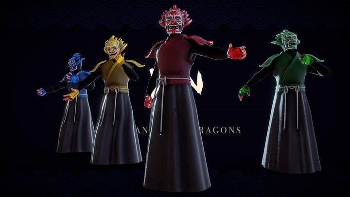 YIN - Avatars 3D Model