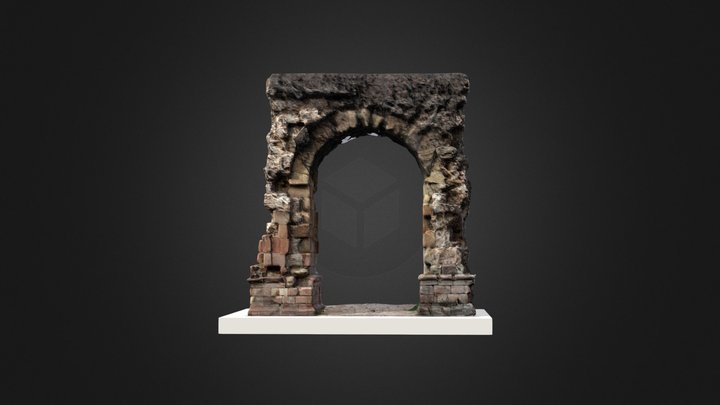 Arc romà. Pont del Diable 3D Model