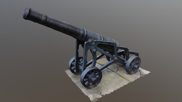 Cannon Scan 3D Model