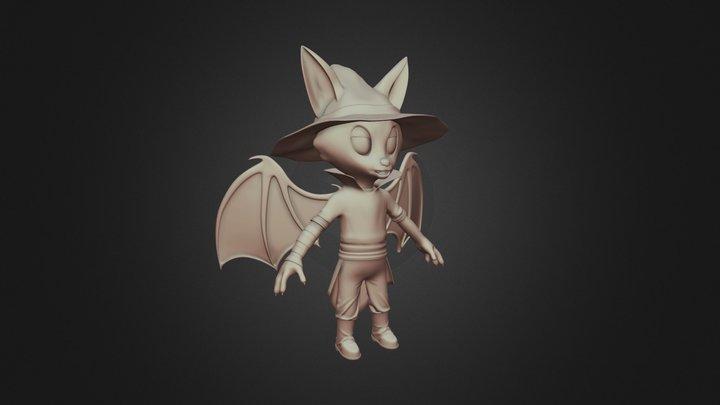 Bat Warlock 3D Model