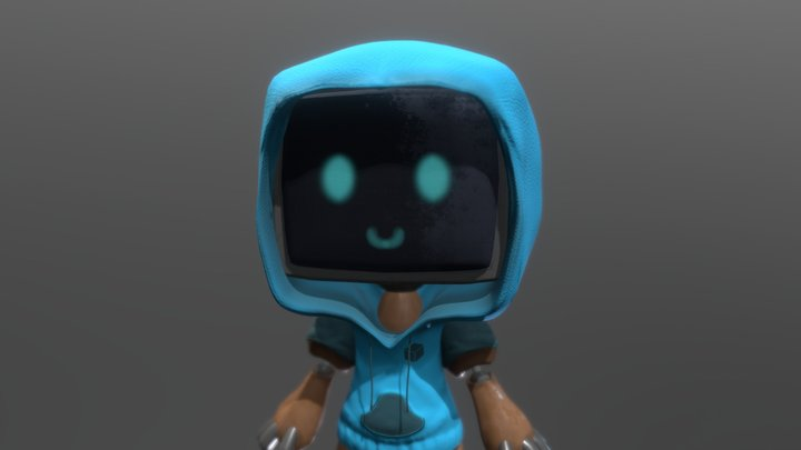 Lil Robo 3D Model