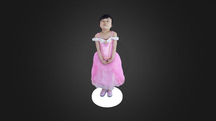 Final Girl O B J 3D Model
