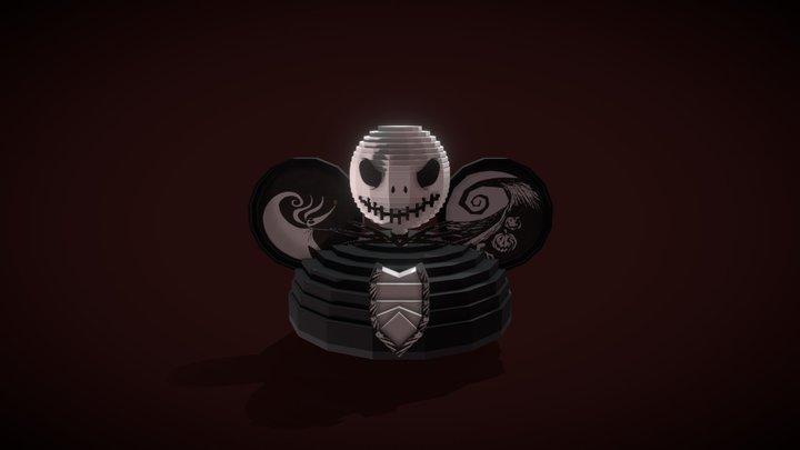 Jack Skellington Ear Hat