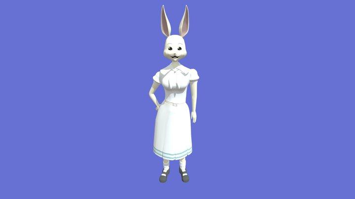 Haru from Beastars 3D Model