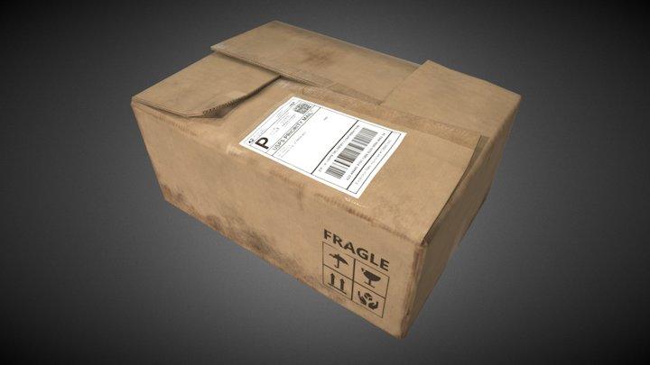 Carboard Box 3D Model