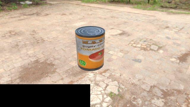 Tinned-Tomato soup 3D Model