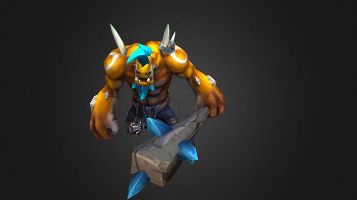 Legion TD 2 - Ogre 3D Model