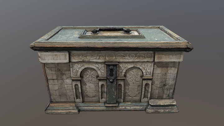 Römhilder Crate / Kästchen (3D-Scan) 3D Model