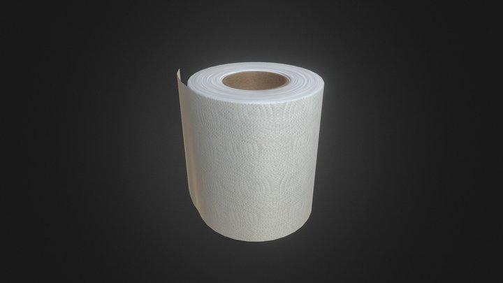Simple Toilet Paper 2.0 3D Model