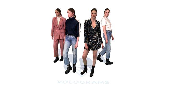 Fashion Innovation Agency + Volograms 3D Model