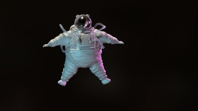 Spaceman Model 3D Model