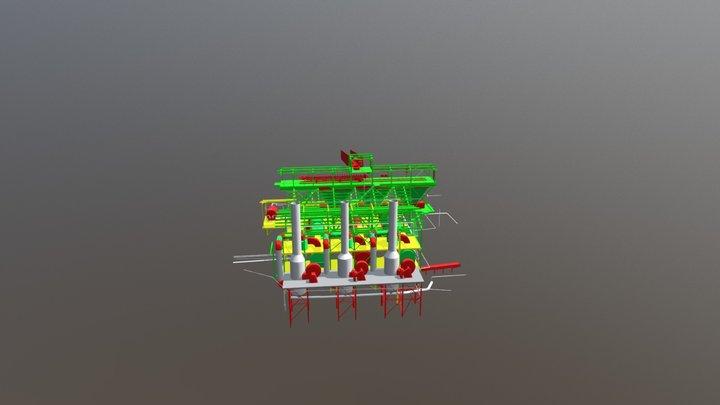 MODELO 3D SECADO 3D Model