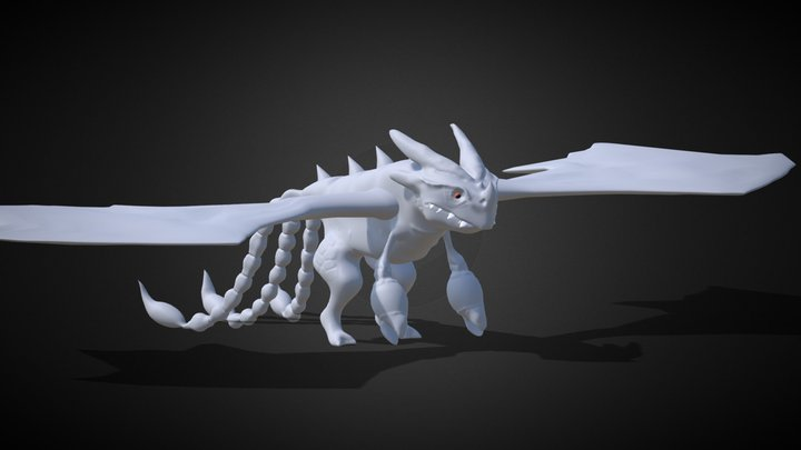 Triple Strike 3D Model