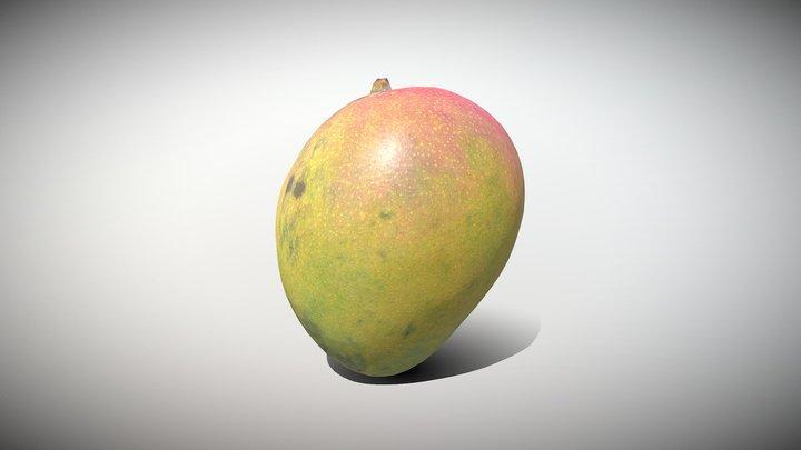 Exotic Fruit Mango - Photoscanned PBR 3D Model