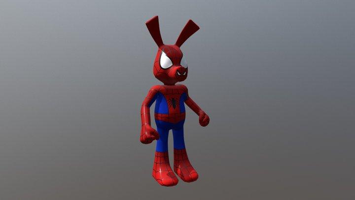 Spider-ham 3D Model