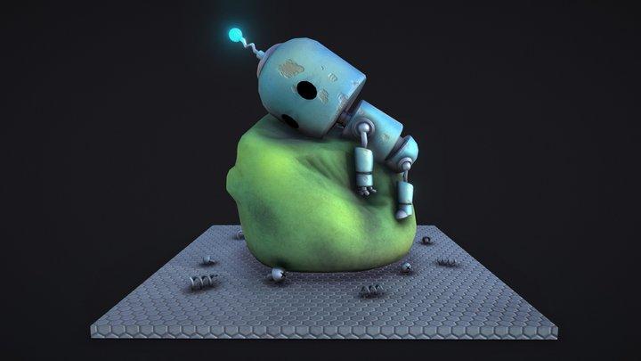 Robot - Robô 3D Model