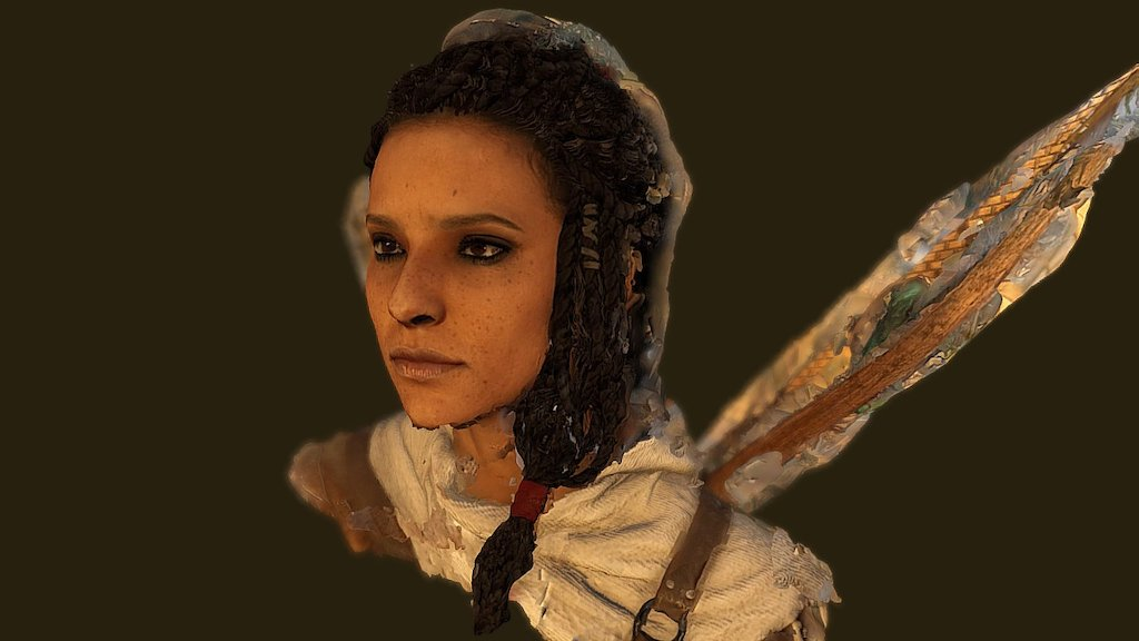 Aya Of Siwa Assassin S Creed Origins 3d Model By Twitte King
