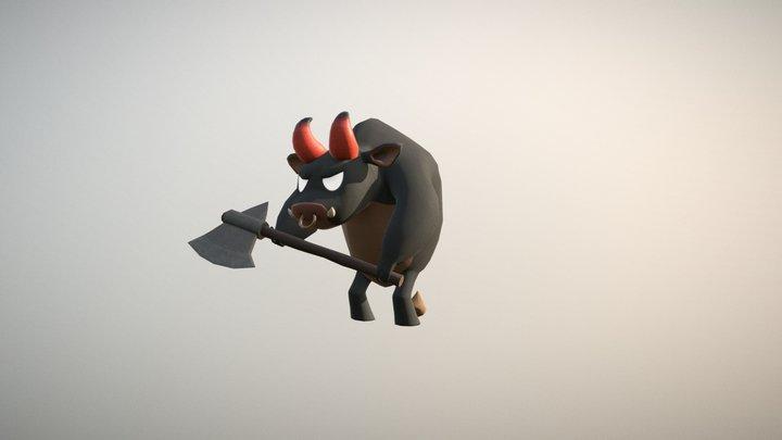 Minotaur - Character Practice 3D Model