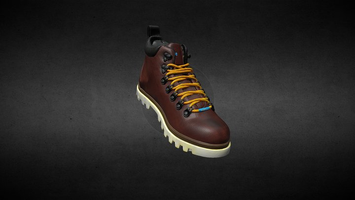 Native Fitzsimmons Treklite Boot 3D Model