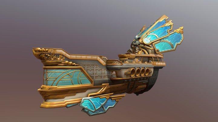 Hadagan Ship Skin Tenses 3D Model