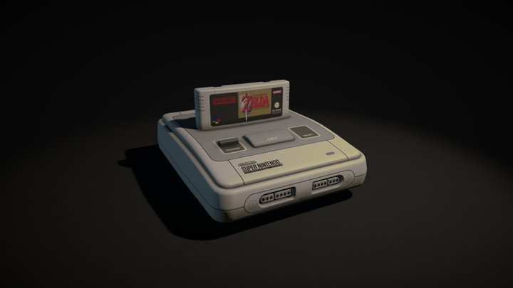 A Link to the Past 3D Model