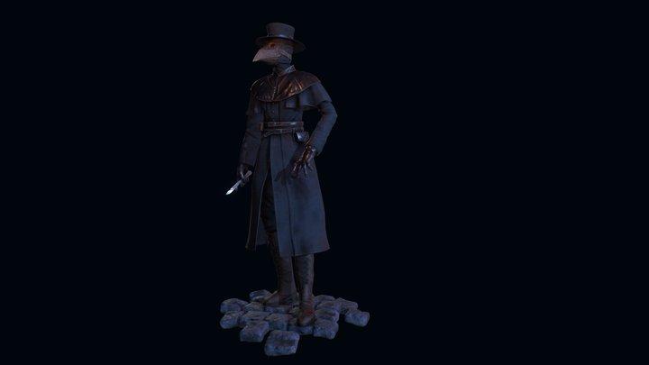 Plague Surgeon 3D Model