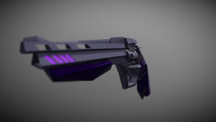 Sci-Fi Revolver 3D Model