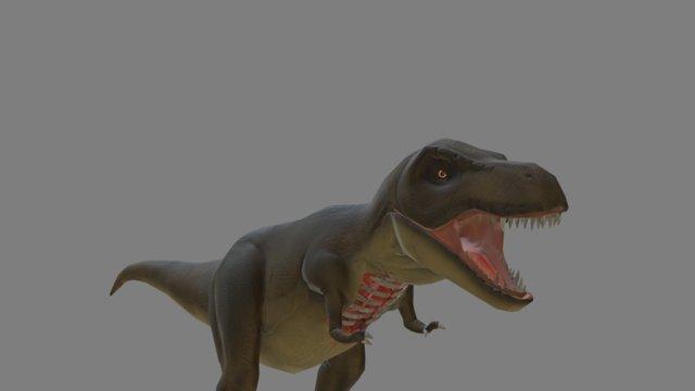 T-rex model 3D Model
