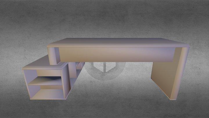 Escritorio-gerencia-02 3D Model