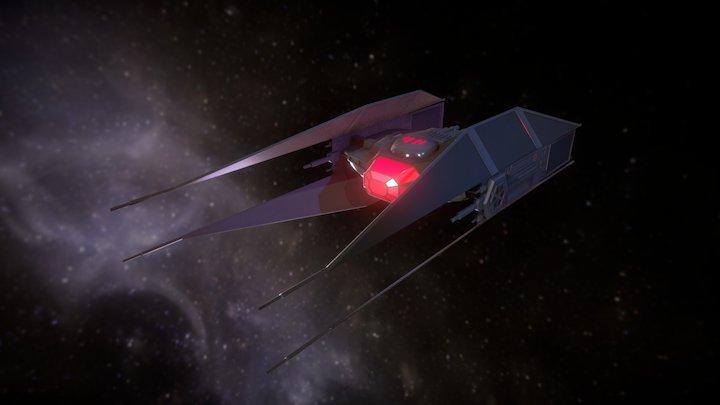 Kylo Ren's TIE Silincer 3D Model