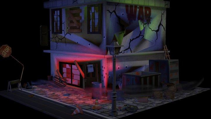 WAR HOUSE 3D Model