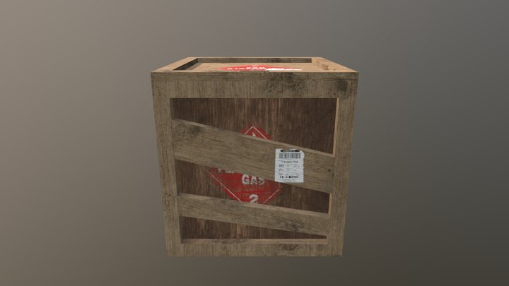 Flamable Carbo Box 3D Model