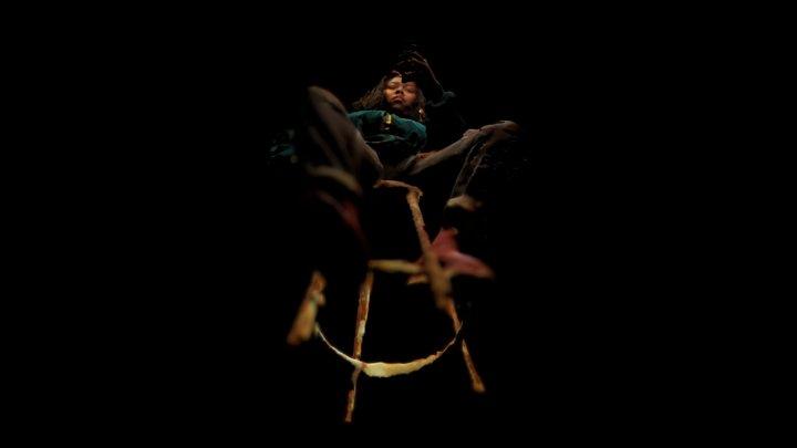 Lélonnie on chair 3D Model