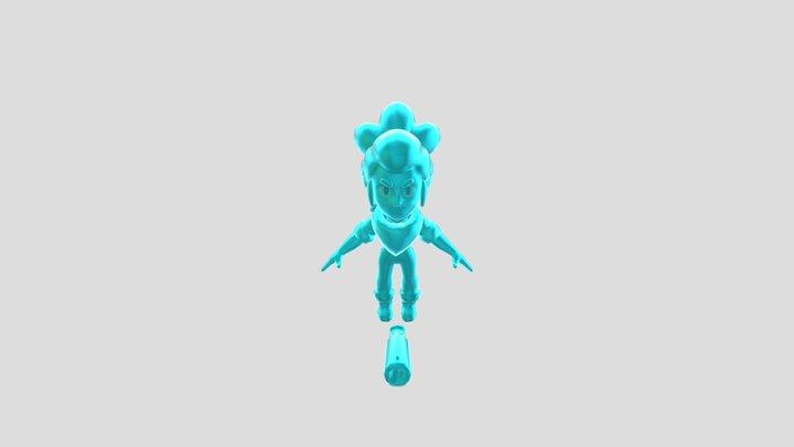True Diamond Shelly 3D Model