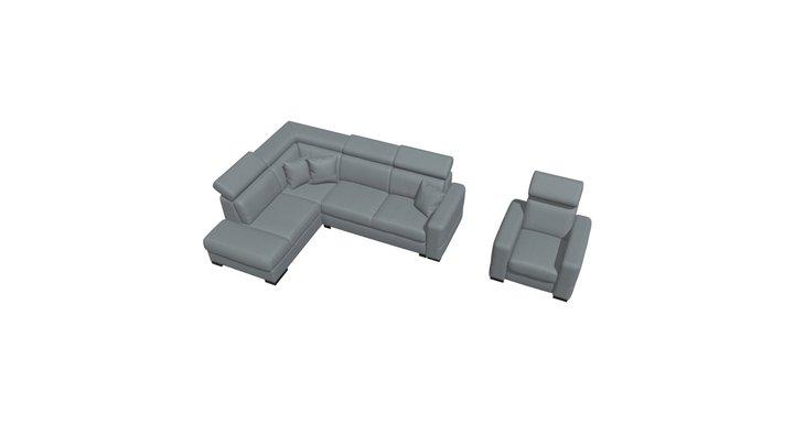 Narożnik Elios 3D Model