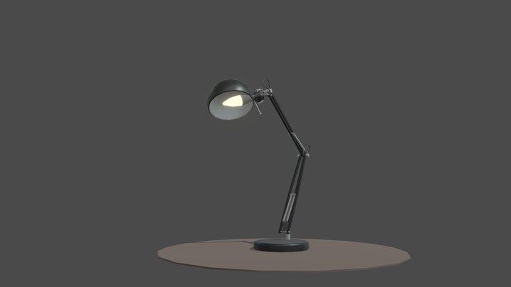 Homework 7 _ Lamp_ 4 hour draft 3D Model