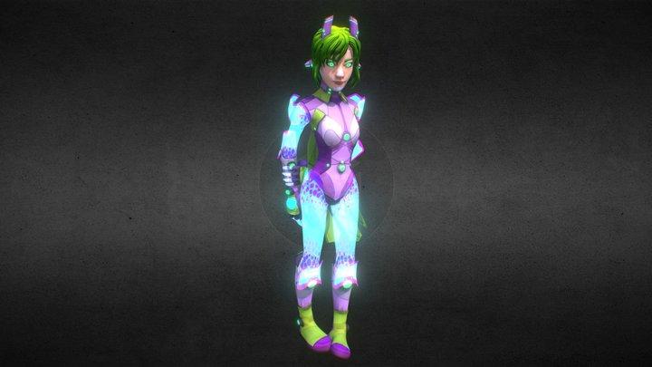 AnnGi 3D Model