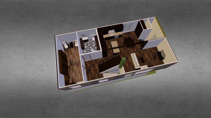 Projet réno 1er étage 3D Model