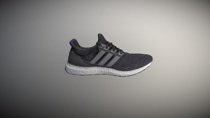 Adidas Ultra Boost Sneaker Shoes 3D Model