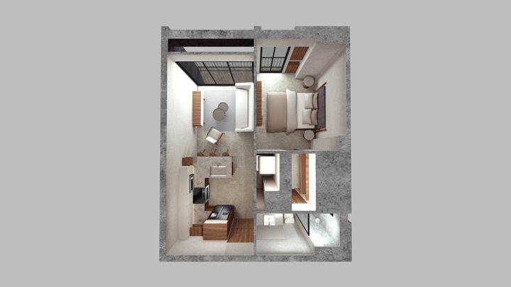 Anuva - Loft 2 3D Model
